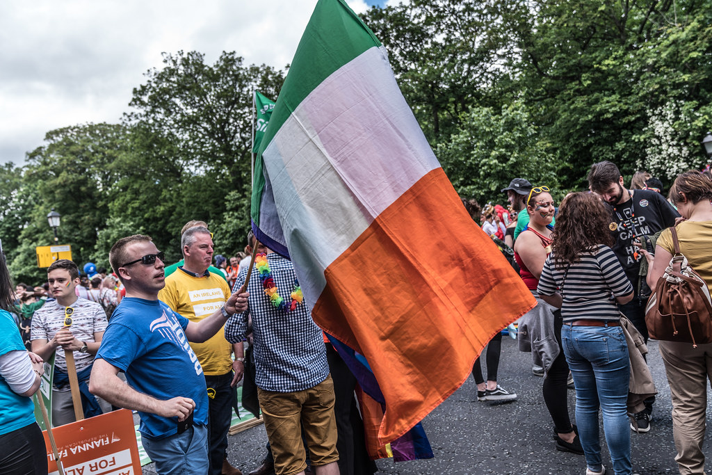 LGBTQ+ PRIDE PARADE 2017 [STEPHENS GREEN BEFORE THE ACTUAL PARADE]-129794