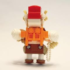 Hoggle's Backside (21gramsofjungle) Tags: lego afol moc minifig minifigure custom bricks toy minifigcat brickforge brickwarriors hoggle labyrinth jimhenson davidbowie jareth goblinking jenniferconnelly 1986 musical fantasy film movie brianfroud brickarms