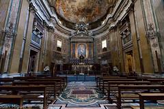 Iglesia del Gesù (Juan Miguel) Tags: church cristianismo europa europe iglesia italia italy juanmiguel roma romacaputmundi rome spqr sonyalpha65 tokina1116 architecture arquitectura interior urban