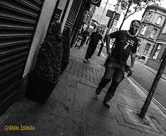 ON MY WAY HOME... (BABAYAGA321) Tags: belfast victoriasquare streetphotography graffiti streetart clocktower murals dirtyonion guinness salvadoredali johnpeel stenaline langanriver ferry stannescathedral spireofhope