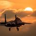Liberty Sunset (Steve Cooke-SRAviation) Tags: 48thfighterwing f15e sraviation 500mm 493fs f15c raflakenheath usaf f15eagle 5d3 canon 492fs usafe 494fs