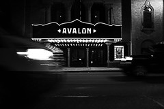 <AVALON> (R*Wozniak) Tags: blackwhite bw blackandwhite street nikond750 night nikon slowshutter blur city contrast