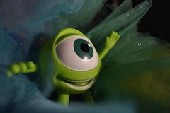 I am very green (luenreta) Tags: smileonsaturday green smile monster toy gogreen mike wazowski 7dwf