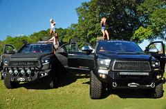 Devolro Truck Girls (Infinity & Beyond Photography) Tags: devolro modified toyota tundra trucks girls miami