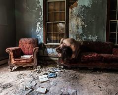 The Stories We Tell (sadandbeautiful (Sarah)) Tags: me woman female self selfportrait abandoned mansion decay abandonedhouse
