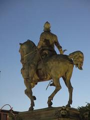 Kopparmärra, Karl IX equestrian statue at twilight, Gothenburg, Sweden (Paul McClure DC) Tags: gothenburg göteborg sweden sverige july2015 historic architecture