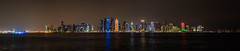 Doha Panorama (ReinierVanOorsouw) Tags: sonya7r sony middleeast middenoosten reizen travelling doha sonya7rii a7r a7rii reiniervanoorsouw reisfotografie reiniernothere reis reinierishere katar دولة قطر citytrip city citylife الدوحة катар 卡塔尔 panorama