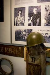 Igor museo, helmet 2 (visitsouthcoastfinland) Tags: visitsouthcoastfinland degerby igor museum museo finland suomi travel history indoor helmet