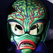 Saucer Man Martian glow Mask 8531