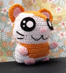 Amigurumi (El Gato sobre el Tejado) Tags: crochet amigurumi peluches plush manualidades crafts hechoamano handmade hamtaro mouse ratón hámster