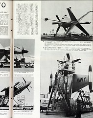 20170702  垂直離着陸機 コンベアXFY-1とロッキードXFV-1 (peter-rabbit) Tags: xfv1 xfy1 垂直離陸飛行機 vtol vto 雑誌 国際写真通信 internationalpictorialnews