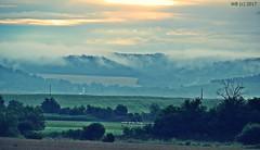 DSC_0054n wb (bwagnerfoto) Tags: landscape regöly pacsmag morning fog after rain hills village church sunrise napkelte hajnal tájkép landschaft sonnenaufgang falu rural countryside