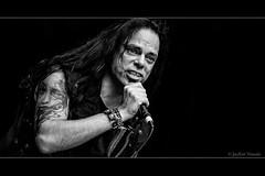 Just Singing A Song... (jayem.visuals) Tags: beard blackwhite blackandwhite concert hair livemusic male men metal music musician people rock singer ©jayemvisuals ©juergenmaeurer