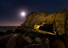 Sea Arch (mikeSF_) Tags: pacific ocean sea arch gualala salt point ft ross bowling ball pt arena bodega stillwater cove jenner by seascape mike oria pentax pentax645z 645 645z dfa25 dfa254 25mm night longexposure lightpainting