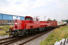 Enercon 261 001-2 Emden Hafen (michaelgoll777) Tags: enercon northrail br261 gravita