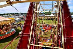 Cheshire Steam Fair, Daresbury (PentlandPirate of the North) Tags: bigwheel vintage cheshiresteamrally tractionengines daresbury runcorn england fairground outdoorshows