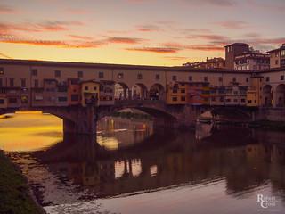 Ponte Vecchio Pastels