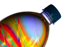 festive elixir (HansHolt) Tags: elixir granddaughter birth potion long healthy life rainbow psychedelic disco multicolor veelkleurig regenboog bottle fles cap dop blue blauw softdrink soda frisdrank reflection reflectie dof bokeh pet polyethyleneterephthalate plastic canon 6d 100mm canoneos6d canonef100mmf28macrousm hss