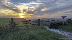Summer Sunset over the Sussex b Downs (July 10th 2017) (M.McCarthy) Tags: summer sussex downs sunset