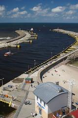 Kolberg Hafeneinfahrt