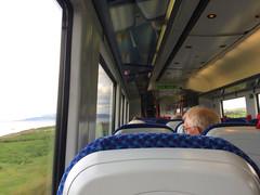 4009 on the 1638 GVS, 5th Jul 2017 (nathanlawrence785) Tags: nir translink caf train 4000 3000 class dmu londonderry coleraine portrush branch junction antrim railway station