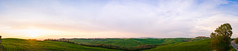 DSC_0109-Pano-Edit.jpg (saladino85) Tags: landscape sunset hilltop italy hills holiday tuscana blue tuscany scenery beautiful trees green rollinghills different corsano sunrise