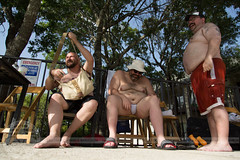 FU4A2097 (Lone Star Bears) Tags: bear austin texas gay chubby big men party pool chunky dunk