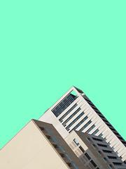 Urban Pyramids (Tyron Macleod) Tags: minimal minimalist art architecture photooftheday design minimalistic minimalmood simplicity love simple rsaminimal fashion style beautiful picoftheday minimalove sky lessismore building london minimalism fresh pastel olympus em5markii plain fun basic austere essential bare lowkey symmetry facade graphic urbanity lines textures abstract perspective