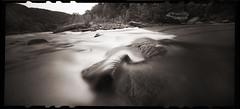 Cheat River Narrows (DRCPhoto) Tags: zeroimage612b pinhole lenslessphotography cheatriver westvirginia film