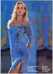 Paris Blues 1987 (barbiescanner) Tags: vintage retro fashion vintagefashion vintageads 80s 1980s 80sfashion 1980sfashion parisblues stonewasheddenim jeans denim