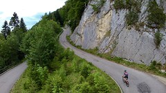 Love This Climb Each And Every Time (29in.CH) Tags: summer evening road bike ride 13072017 climb rock wall trees hairpin turn