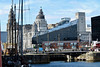 Liverpool (tweedy35) Tags: europe england merseyside liverpool dockland albertdock waterfront buildings threegraces architecture canong1x bridge