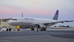 United Airlines Airbus 320 N457UA c/n 1146 at San Francisco Airport. 2017. (planepics43) Tags: unitedairlines unitedexpress n475ua 1146 sanfranciscoairport sfo airport airbus 320 319 engine 380 350 claytoneddy california cessna maintenance sfoov southwestairlines deltaairlines americanairlines flightattendant aviation aircraft airplane