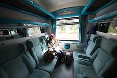 2017-05-18 熊喵希臘蜜月行 - 卡蘭巴卡回雅典的火車上