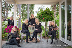 20170604Sunday in the Garden with Laurie (Laurie2123) Tags: 52weeksof2017 laurieturner laurieturnerphotography laurietakespics laurie2123 nikkor2470mm nikond800 backyard composite creative me multiples multiplicity selfportrait selfie scottie scottishterrier