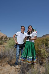 Me with Photography Instructor Scott Robert Lim (SCSQ4) Tags: christine ho scott robert lim portrait photography joshua tree national park
