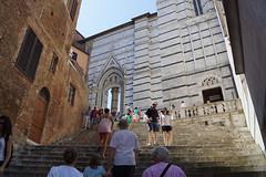 Steps to Siena Duomo (JC Warner) Tags: duomo sienna steps