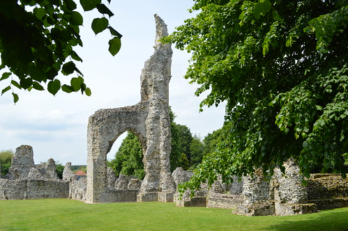 Thetford Priory tall remains