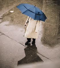 In the Rain (desomnis) Tags: rain water reflection wet street urban wien vienna austria österreich desomnis canon 6d canon6d streetphotography umbrella raining men 135mm canon135mmf2l canon135mm