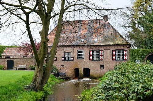 1758 Deurne, watermolen aan de Vlier