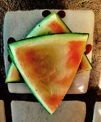 Watermelon 🍉 Six Pointed Star