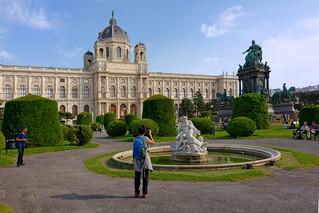 Vienna / Maria Theresien-Platz / Kunsthistorisches Museum