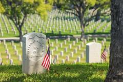 never forget (Karol Franks) Tags: losangeles national cemetery veteran memorial day headstones rip honor patriotism america usa war loss