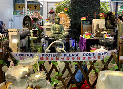 Copyright Protect Please Don't Copy (cowyeow) Tags: cantonfair funny funnysign funnychina asia asian guangdong wrong china chinese strange bad sign guangzhou copyright protect copy irony ironic buddha faith religion theft showroom garden gardendecor decor