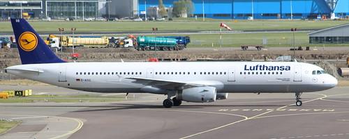 D-AISG Airbus A321-231 Lufthansa