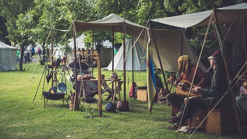 Middeleeuws kampement, Kampen