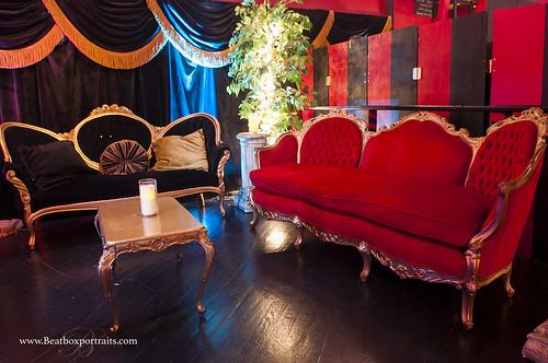 Our Louis XIV Lounge.