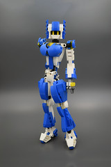 Candy (E-Why) Tags: lego moc robot fembot gynoid mech