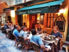 Night dining on the street - Villefranche-sur-Mer, France - 23 June 2017 . . . . . . #summer2017 #samsungs7 #galaxys7 #villefranchesurmer #villefranche #snapseed #southoffrance #cotedazur #june2017 #23June2017 #23june #fridaynight #lagrignotière #lagrigno (polnamara) Tags: frenchfood fridaynight 23june2017 snapseed galaxys7 samsungs7 southoffrance 23june lagrignotière côte villefranche summer2017 june2017 juhanus lagrignotiere villefranchesurmer midsummer summerholiday côtedazur cotedazur travel