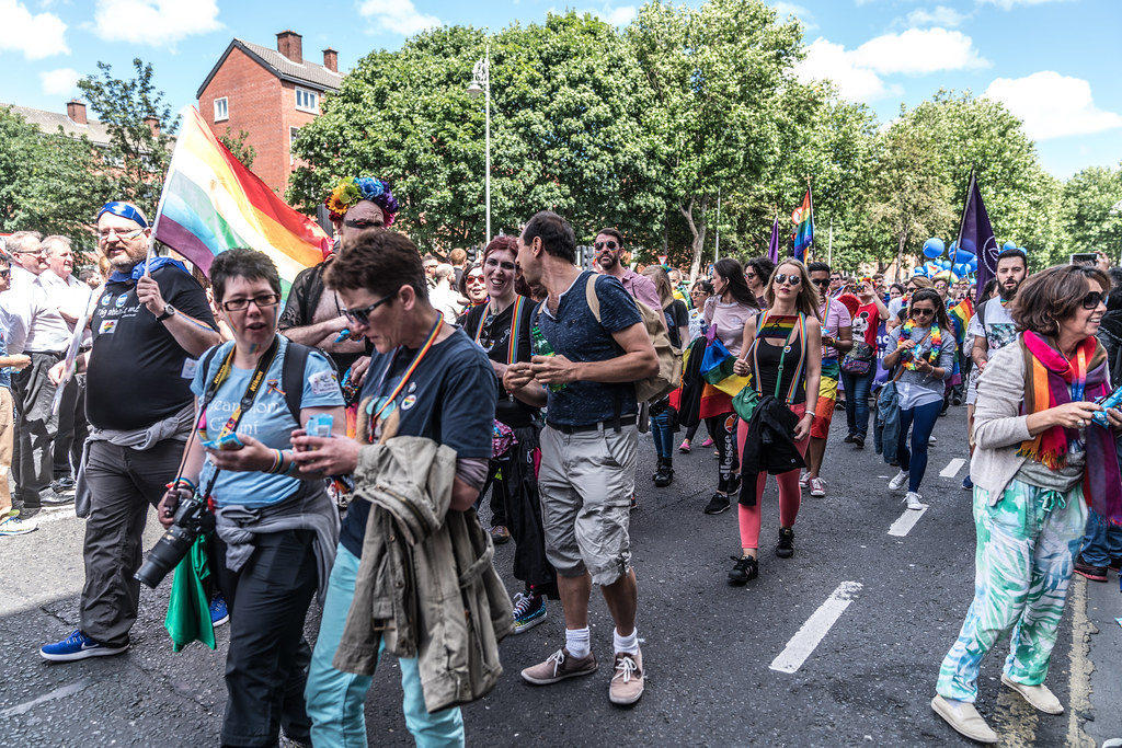 LGBTQ+ PRIDE PARADE 2017 [ON THE WAY FROM STEPHENS GREEN TO SMITHFIELD]-130098